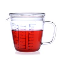 arts ovens - Glass measuring cup milk cup glass dial microwave oven measuring cup high borosilicate glass milk cup scaled cup size