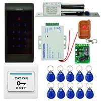Wholesale Brand Danmini Password Door ID Card rfid Access Control Fingerprint Time Set Door Access Control System ID Keyfob Exit Button
