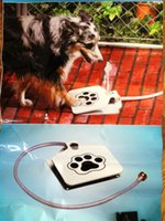 Wholesale Tope seller Step Spray Doggie Dog Cat Paw Water Feeder Drinking Fountain Dish Spring Pedal