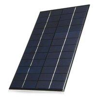 ELEGEEK 4.2W 12V 350mA 130 * 200 * 3mm Resina de epoxi Encapsulated la célula solar del silicio policristalino para el experimento científico y la educación