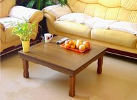 folding tables - Korean Low Table Folding Legs Asian Antique Furniture Design Living Room Floor Table for Dining Coffee Color Traditional Korean Tea Table