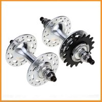 Wholesale Top Quality Fixed Gear Bike Bicycle Hubs Set Holes Bike Cycling Front Hub Rear Hub Bicycle Refit Accessories