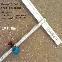 Wholesale 180cm Length heavy cm T Type Aluminum Alloy Glass Cutter Tool FR