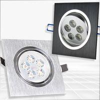 Wholesale 5w led spotlight V AC grille ceiling lamp high power square spot recessed lamp LED Square cm