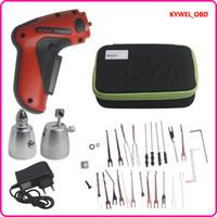 Wholesale New KLOM Cordless Electric Lock Pick Gun Auto Pick Guns Lockpicking Locksmith Tools High quality