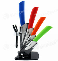 Wholesale FINDKING Super Quality Zirconia Kitchen Knife Fruit Knife Ceramic Knife Kitchen Knife Set quot quot quot quot inch Peeler Covers Free DHL Fatory