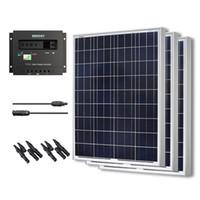 pv solar panel - Solar Panel PV Watt Bundle Kit Poly W Watts Off Grid V RV Boat