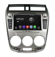Wholesale Android Car DVD for Honda City with Radio GPS BT SWC Audio Video Tape Recorder Built in DVR Wifi Free G Map