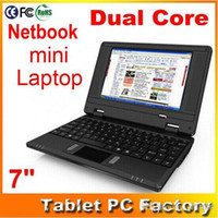 Wholesale Fastest Dual Core inch android VIA cortex A9 GB cheap laptop MID with Camera wifi XB07
