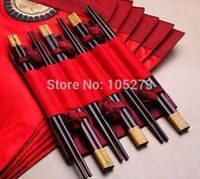 asian napkins - Exquisite Asian Red Table Cloth Placemats Napkins Pairs Bamboo Chopsticks Set Chinese Characteristics Gift