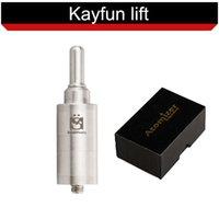 Wholesale Kayfun Lite plus Clearomizer E Cigarette Rebuildable Atomizer with Airflow Control Bottom Feeder Thread For EVOD X6 VAMO V5 V3
