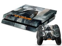 Cheap HOT New Game The Division Decal Skin Cover Sticker For PS4 Console + Sticker for Playstation 4 Controller PS4 Skin