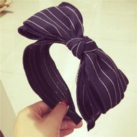 Wholesale 2015 New Dongguk door face floral satin headband upscale catcher little yellow people bow card