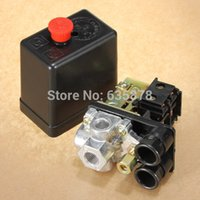 Wholesale High Quality psi V A HeavyDuty Air Compressor Pressure Switch Control Valve Port order lt no track