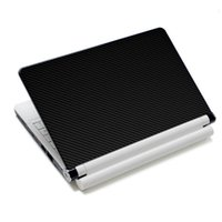 Wholesale Brand New Carbon Fibre Vinyl Notebook PC Laptop Skin Sticker Cover Decal Free Squeegee Printed cm For Computer