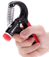 Wholesale 10 Kg Adjustable Hand Grip Wrist Forearm Strength Training Hand Gripper Gym Power Fitness Hand Exerciser Heavy Grip Grips