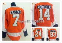 barber jersey - Popular Matt Read Orange Jersey New Stitched Bill Barber Jersey Sean Couturier Jakub Voracek Hockey Jersey