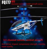 3.5 canaux hélicoptère modèle 2.4 G télécommande anti-interférence véhicule aérien sans pilote (uav) avec photographie vidéo
