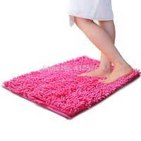 Wholesale 40 X CM New Home Absorbent Mat Bathroom Toilet Living Floor Mats Rug Washable Anti Slip Color