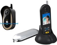 Wholesale Wireless Ghz Door Video Phone Camera Viewer Auto Taking Photos quot TFT LCD