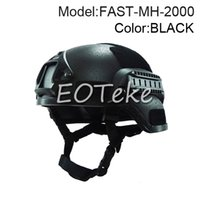 Wholesale Mich Military Tactical Combat Helmet w NVG Mount Side Rail For Airsoft Paintball Field game Movie Prop Cosplay