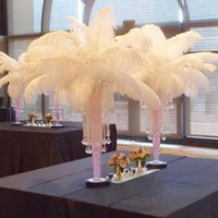 Wholesale Large Ostrich Feathers Table Centerpieces Plume for Wedding Centerpiece Ostrich Feathers Table Centerpiece Event Decoration Party Supplies