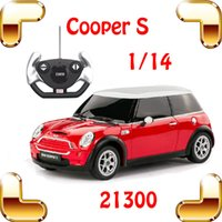 mini cooper rc car - New Year Gift Rastar Mini Cooper S RC Remote Control Toy Car Big Sedan Car Electric Drive Vehicle Cute Present