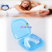 Wholesale Stop Snoring Mouthpiece Anti Snore Apnea Cure No Snore Sleeping Aid New and Hot Selling