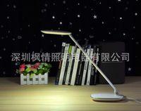 Cheap SYQ7LED Eye folded light touch dimmer rooms office desk lamp reading lamp 9W FQ