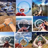Wholesale 2015 Fashion Silicone Camo lokai bracelet men and women colors beaded bracelets Find Your Balance