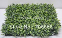 artificial boxwood panel - Good looking artificial plastic boxwood mat boxwood panel for indoor outdoor garden wedding party event decoration use A1
