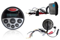 Wholesale Waterproof Marine Stereo Radio FM AM MP3 Sound System Receiver Player for car Boat SPA ATV