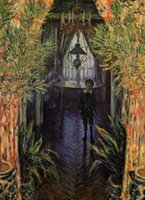apartment paintings - Landscape oil paintings on linen A Corner of the Apartment Claude Monet s reproduction hand painted