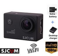 Wholesale SJCAM Original SJ4000 WIFI Action Camera Diving M Waterproof Camera P Full HD Underwater Sport Camera Sport DV Gopro style