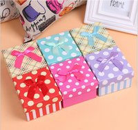 Wholesale new hot money high end jewelry Valentine s Day Christmas gift packaging box color choices