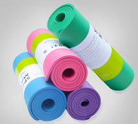 Wholesale Moistureproof Yoga Mat Broadened MM nbr Sports Mat Fitness Mat Prints Mat for Fitness cm cm