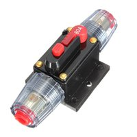 Wholesale 80A DC12V Car Stereo Audio Circuit Breaker Inline Fuse AMP