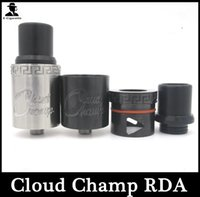 Nuage champion rda Prix-1: 1 <b>Cloud Champ rda</b> atomiseur clone Bricolage réutilisable gouttes atomiseur VS doge x RDA Atomiseur pour e Cigarette cig Mods mécaniques