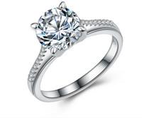 australia zircon - 2016 Classic zircon Australia Crystal Rings Fashion Jewelry Engagement Wedding Gift finger Rings Eternity