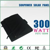 solar car battery charger - 300W solar battery car charger with high efficiency