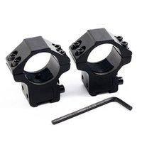 Wholesale AccuShot Premium Mid Profile Airgun Ring for Inch Scope Screws DHL Free