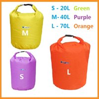 Wholesale High Quality L L L Outdoor Waterproof Dry Bag for Canoe Kayak Rafting Camping Green Orange Purple