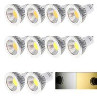 Wholesale CREE COB GU10 E27 E26 E14 MR16 Led W Spot Bulbs Light CRI gt Lumens High Power Led Lights Lamp AC V