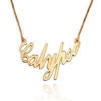 alphabetical pendants - Xu Ping Jewelry alphabetical female short paragraph clavicle necklace k gold plated jewelry gold necklace to send his girlfriend