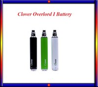 Cheap Clover overlord I 2600mah Battery 510 Thread Fit GS Air tank subtank mini VS Vision spinner II evod twist battery Istick 20w 30w