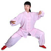 Wholesale clothing anti static cotton brocade suit Taijiquan martial arts sports wear performance clothing factory direct sales