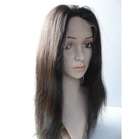 Wholesale Full Lace Human Hair Wig for Sale Natural Color Best Lace Long Straight Indian Natural Human Wig No Shedding No Tangling Perfect Cheap Wigs