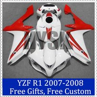 aftermarket sportbike fairings - Sportbike fairing set for Yamaha YZF R1 ABS plastic Cowling YZF R1 Aftermarket motorcycle bodywork with free gifts