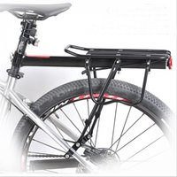 Wholesale Mountain Bike Rear Shelf Single Car Bicycle Rack Shelf Sheeting Sturdy Aluminum Alloy Material Adjustable Length