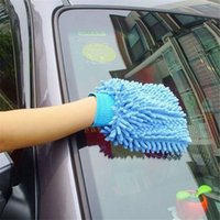Wholesale Super Mitt Microfiber Chenille Car Wash Washing Cleaning Gloves Car Washer Car Accessories HO872406
